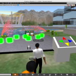 Engineering Active Learning in 3D Virtual Worlds